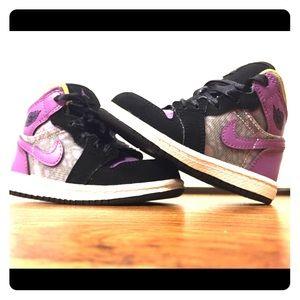 Used Jordan 1 PHAT (TD) Infant Sneakers